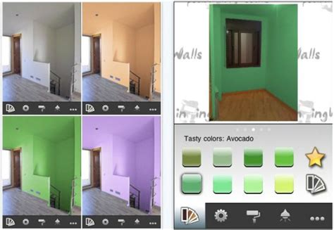 app for paint color 10 iphone apps to help you choose the perfect home colors