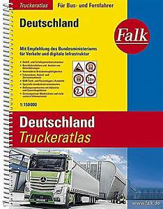 Falk Straßenatlas Deutschland : falk truckeratlas deutschland buch portofrei bei ~ Jslefanu.com Haus und Dekorationen