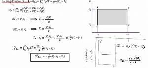 Exercice Thermodynamique S1 Diagramme De Clapeyron Travail
