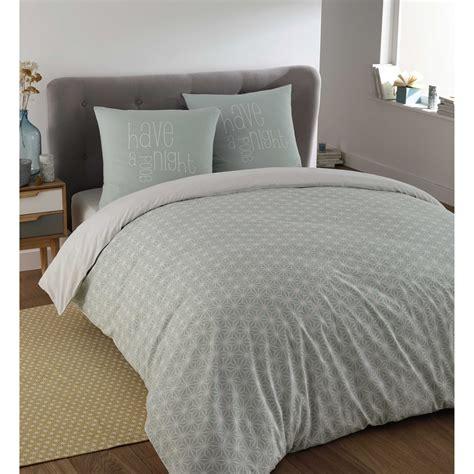 deco chambre bord de mer parure de lit 220 x 240 cm en coton bleue kimono maisons
