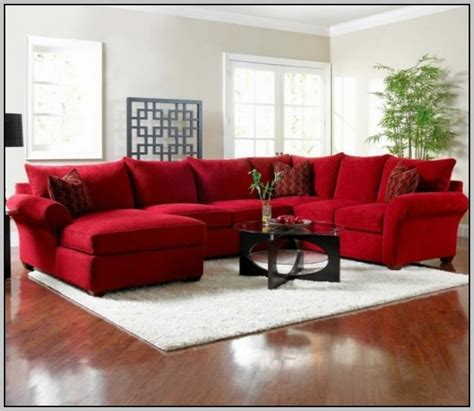 red sectional sleeper sofa red sectional sofas latest trend of red sectional sofa 14