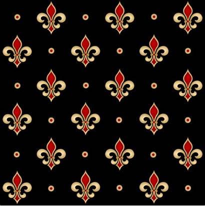 Fleur Lis Pattern Vector Premium