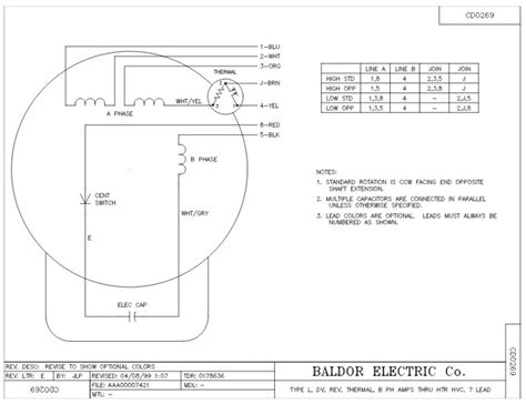 Baldor Reliance Industrial Motor Diagram by Baldor 5 Hp Motor Wiring Diagram Impremedia Net