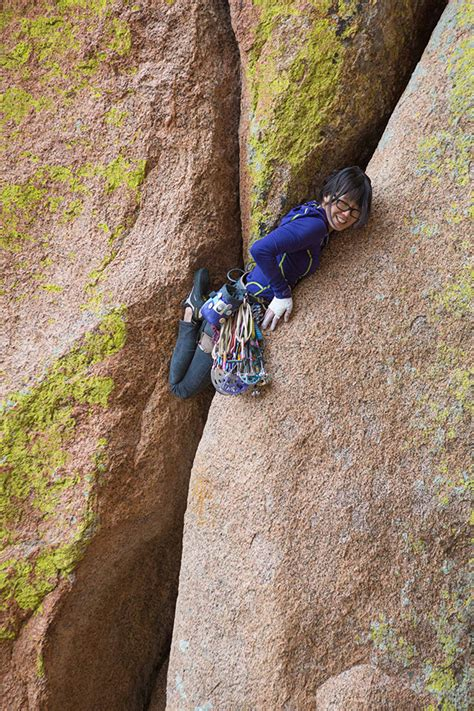 The Bizarre Painful Appeal Off Width Climbing