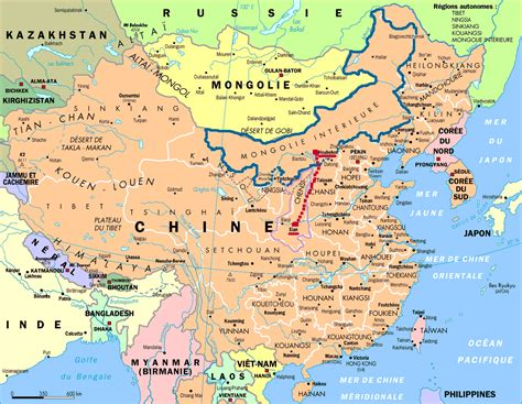 mongolie interieure voyages cartes