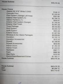 Estimating Price by House Construction Estimate For House Construction