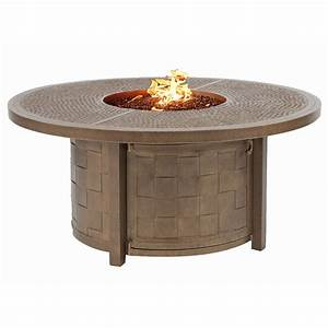 castelle resort fire pit 493939 round coffee table outdoor With 50 round coffee table