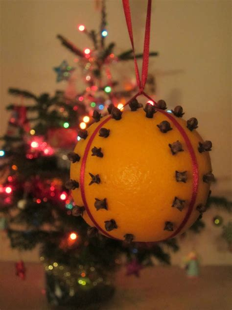 orange clove christmas decoration crafty weekend