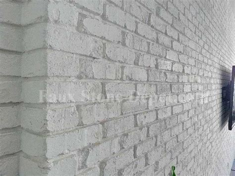 faux brick panels Home Gym Contemporary with brick