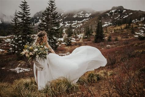 silver star mountain styled elopement  skamania county