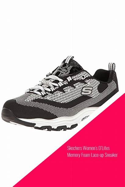 Skechers Memory Lites Foam Sneaker Lace Sneakers