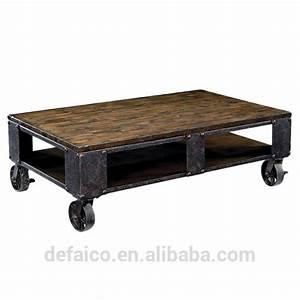 rustic industrial style living room coffee table with With industrial style coffee table with wheels