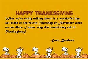 Snoopy Thanksgiving Quote Pictures, Photos, and Images for ...