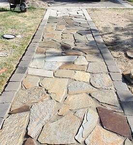 flagstone walkway - Google Search | Patio & Garden | Pinterest