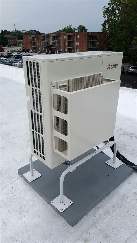 Mitsubishi Heating And Cooling For Sale by Mitsubishi P Series Outdoor Unit With Wind Baffle Used