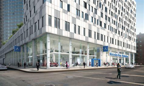 Mercedes's New Manhattan Dealership Sets A Design Standard