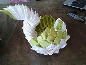Pliage En Papier : pliage de serviette en papier ~ Melissatoandfro.com Idées de Décoration