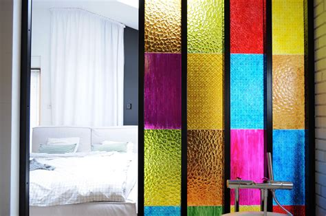 nautical bathroom ideas bedroom bathroom partition in colored plastic panels diy