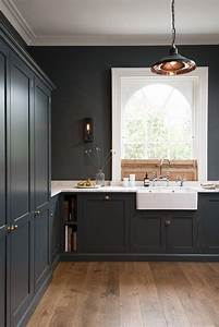 best 25 dark kitchens ideas on pinterest beautiful With best brand of paint for kitchen cabinets with wall art london
