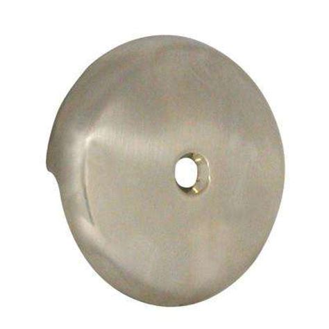 bathtub overflow gasket home depot tub overflow plate washer nickel the home depot