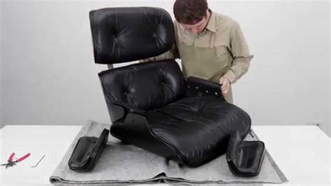 verin chaise bureau how to restore an eames lounge chair with broken arm rest