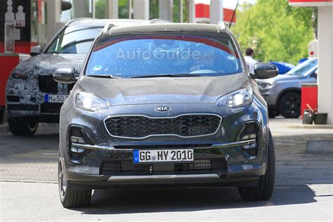 2019 Kia Sportage Looks Ready To Test Its Facelift On The