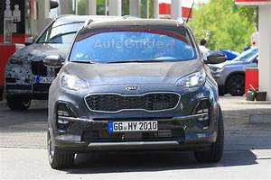 Kia Sportage 2019 : 2019 kia sportage looks ready to test its facelift on the track news ~ Medecine-chirurgie-esthetiques.com Avis de Voitures