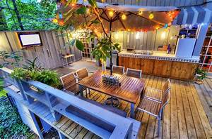 Rustic, Patio, Furniture, Ideas, For, A, Total, Deck, Upgrade