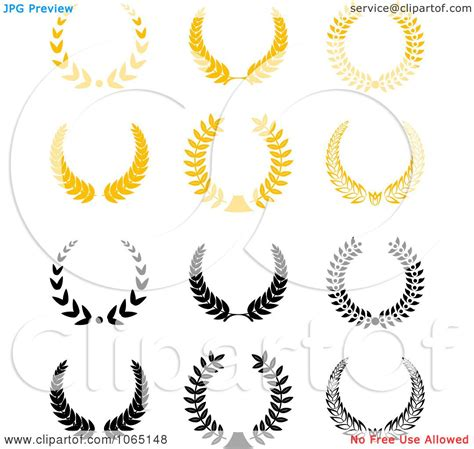 free royalty free clipart clipart laurel wreaths 1 royalty free vector