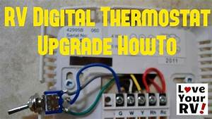 Hunter 42999b Digital Rv Thermostat