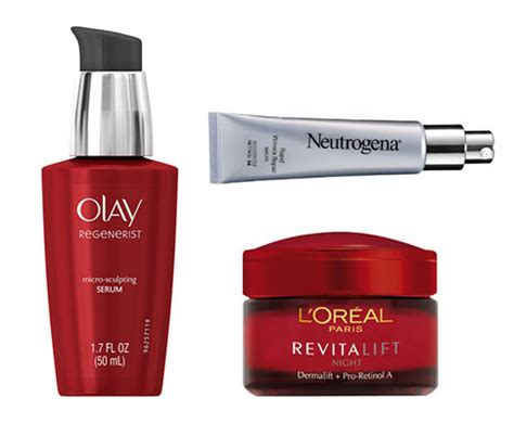 The Drugstore Anti-Aging Products Dermatologists Always