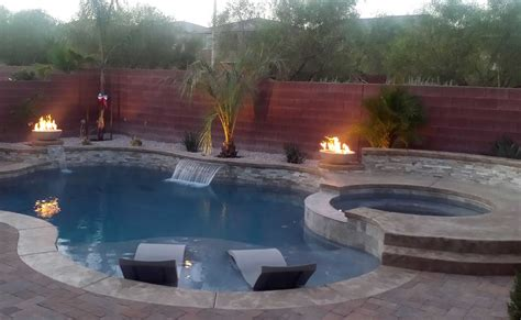home artistic pool  spa