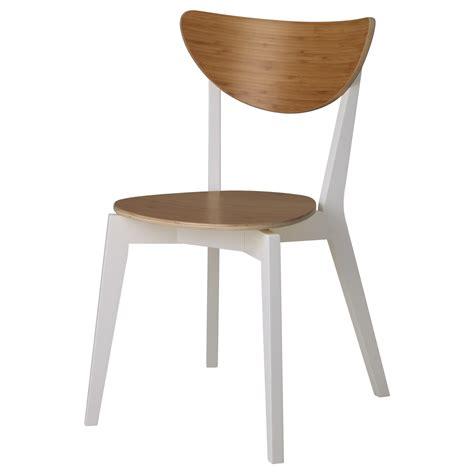 ik a chaise nordmyra chair bamboo white ikea
