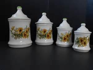 sunflower canister set kitchen canisters - Sunflower Canister Sets Kitchen