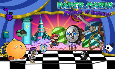paper mario fan game paper mario mirror of infinity chapter 3 by renleixue on