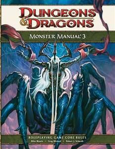 Monster Manual 3  4e