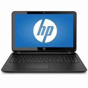 "HP Black 15.6"" 15-f211wm Laptop PC with Intel Celeron ..."