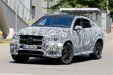 mercedes gle coupe spied  test auto express