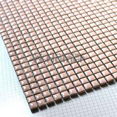 shipping free pink mini ceramic mosaic tile sheet 12x12