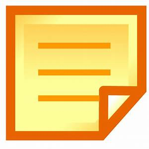 Post It Icon - Blogger Icons - SoftIcons.com
