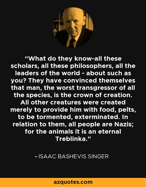 isaac bashevis singer quote
