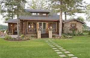Modern Log Home Design Styles