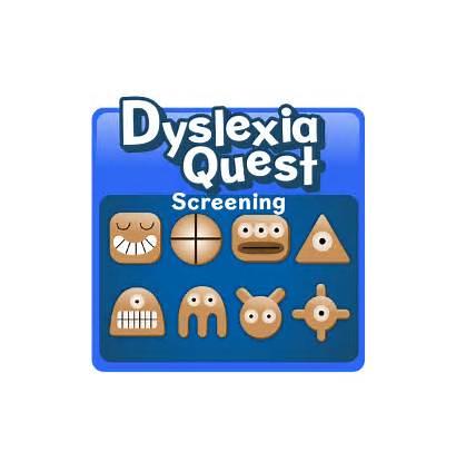 Dyslexia Screening Quest Nessy Children Test Screener