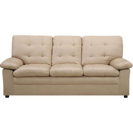 couches for walmart mainstays buchannan microfiber sofa colors