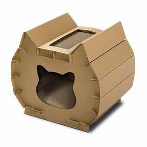 Maison Pour Chat Extérieur : niche griffoir aladin pour chat igt406 achat vente ~ Premium-room.com Idées de Décoration