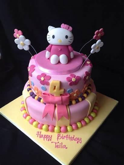 Kitty Cake Hello Birthday Cakes Decorations Decoration