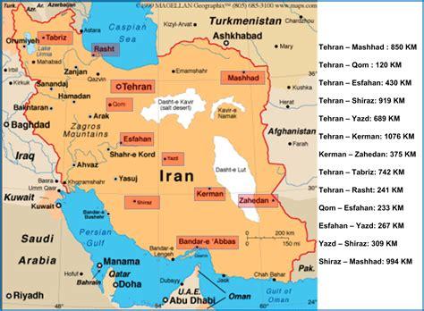map  islamic republic  iran israa miraj net