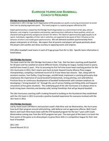 Baseball Coach Resume by Coach Resume Sales Coach Lewesmr