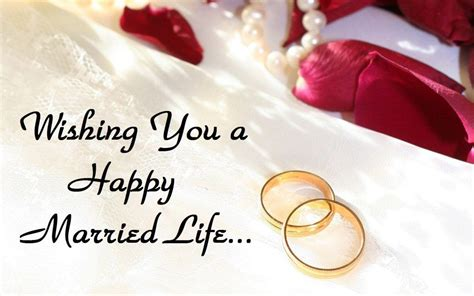 happy married life wishes messages images wedding