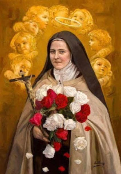 """Padre Pio and the Little Flower: """"She is a Saint a very"""